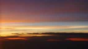 Красивые заходы солнца над Колорадо Стоковые Фотографии RF