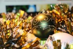Красивые игрушки рождества Стоковые Изображения RF