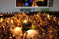 Красивые игрушки рождества Стоковое Изображение