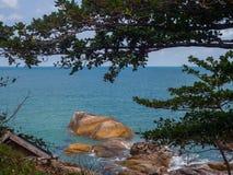 Красивые изображения на острове Phangan стоковые фотографии rf