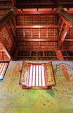 Красивые искусства и архитектура Wat Pra Singh, Chiang Rai, северный Таиланд Стоковое Фото