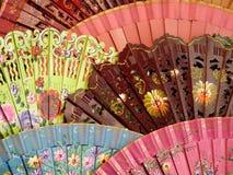 Красивые испанские вентиляторы Стоковое Изображение RF