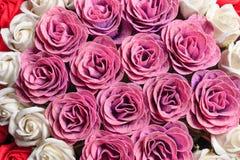 Красивые и душистые розы Стоковое Изображение