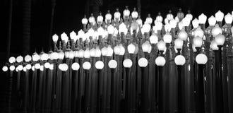 Красивые и пышные света lacma стоковые изображения rf