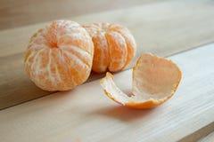 Красивые и сочные tangerines Стоковая Фотография