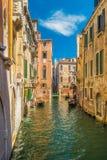 Красивые каналы Венеции Стоковое Изображение