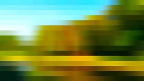 Красивые красочные абстрактные линии Стоковая Фотография