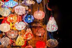 Красивые красочные фонарики Стоковые Изображения RF
