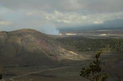 Красивые ландшафты потухших рек лавы Стоковое Фото