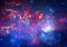 Красивые межзвёздное облако, звезды и галактики Элементы этого изображения поставленные NASA стоковые фото