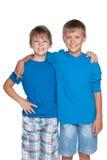 Красивые молодые мальчики Стоковые Фото