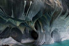 Красивые мраморные пещеры Стоковые Фото
