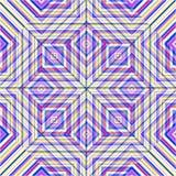 Красивые нежные полигоны и линии на светлой предпосылке vector иллюстрация Стоковое Изображение