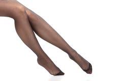 Красивые ноги тонкой девушки Стоковое фото RF