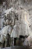 Красивые образования пещеры кальцита Стоковое Фото