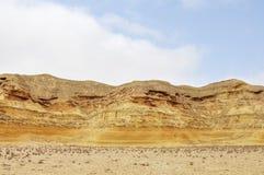 Красивые облицеванные образования песка Стоковое Фото