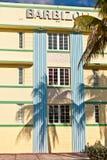 Красивые дома в стиле стиля Арт Деко Стоковое Изображение