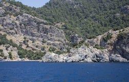 Красивые острова и горы Стоковое Изображение RF