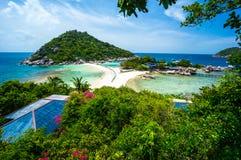 Красивые острова на совершенные каникулы пляжа Стоковое фото RF