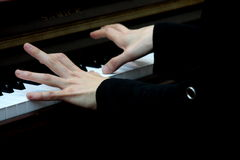 Красивые пальцы Стоковые Фото