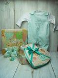 Красивые подарки для младенца Стоковые Изображения RF