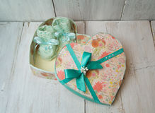 Красивые подарки для младенца Стоковое Фото
