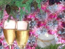 Красивые праздничные рождество и Новый Год предпосылки Стоковая Фотография RF
