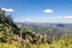 Красивые природа и ландшафт Pai, Mae-Hong-Sorn, Таиланда Стоковая Фотография RF