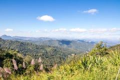 Красивые природа и ландшафт Pai, Mae-Hong-Sorn, Таиланда Стоковое фото RF