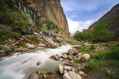 Красивые природа и плато на горе Стоковые Фото