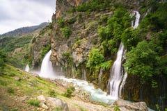 Красивые природа и плато на горе Стоковые Изображения