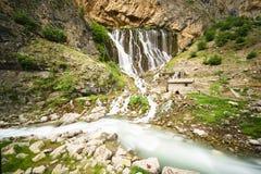 Красивые природа и плато на горе Стоковое Фото