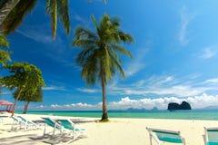 красивые пляж и курорт Стоковое фото RF