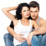 Красивые сексуальные пары в влюбленности стоковое фото