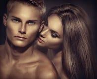 Красивые сексуальные пары Стоковое Фото