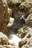Красивые скалы Алгарве, на юге  Португалии Стоковые Изображения RF