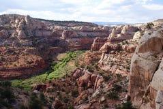 Красивые скалы заводи икры Стоковое фото RF