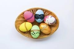 Красивые собрания пасхального яйца дизайна Стоковые Фотографии RF