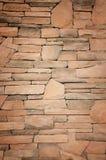 Красивые старые каменные стены. Стоковое Изображение RF