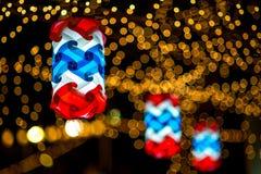 Красивые тайские фонарики стоковые изображения rf