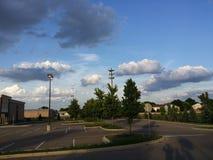 Красивые темные облака Стоковое Изображение RF