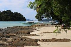 Красивые тропические острова - изумляя Palawan, Филиппины стоковые изображения