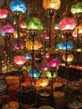 Красивые турецкие фонарики Стоковые Фото