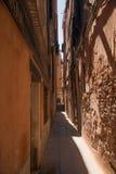 Красивые узкие улицы Венеции Стоковое фото RF