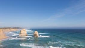 Красивые утесы 12 апостолов, Австралия Стоковые Изображения RF