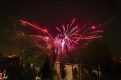 Красивые фейерверки Стоковое Фото