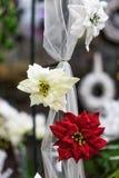 Красивые флористические украшения Стоковое Изображение