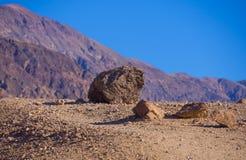 Красивые цвета Death Valley в Калифорнии - палитре художников Стоковые Фото