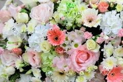 Красивые цветки предпосылка и текстура для wedding сцены Стоковые Фото
