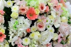 Красивые цветки предпосылка и текстура для wedding сцены Стоковое Изображение